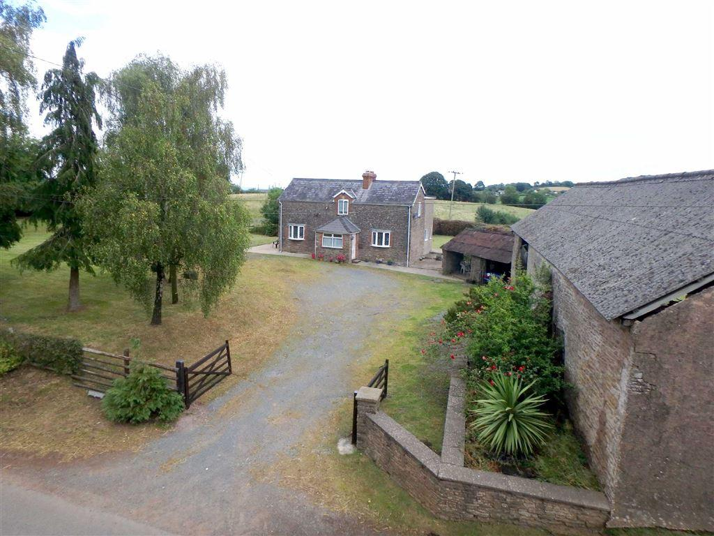 3 Bedrooms Detached House for sale in Orcop, Hereford