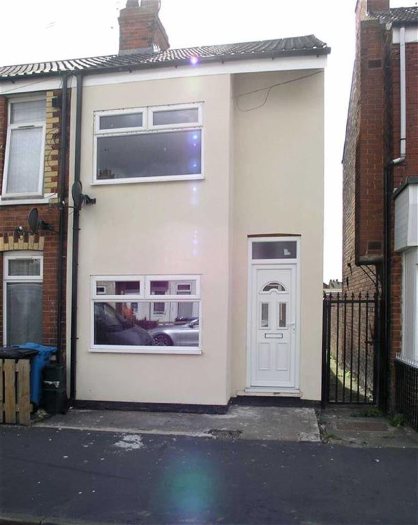 2 Bedrooms End Of Terrace House for sale in Essex Street, Hull