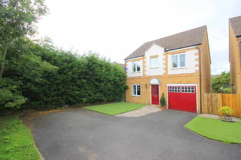 4 Bedrooms Detached House for sale in Cedar Court Catchgate, Stanley