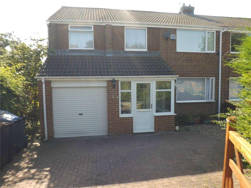 4 Bedrooms Semi Detached House for sale in Brookside, Witton Gilbert, Durham