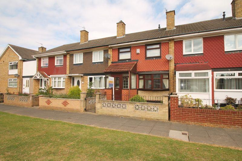 3 Bedrooms Terraced House for sale in Barholm Close, Middlesbrough