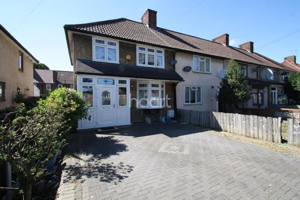 3 Bedrooms End Of Terrace House for sale in Hedingham Road