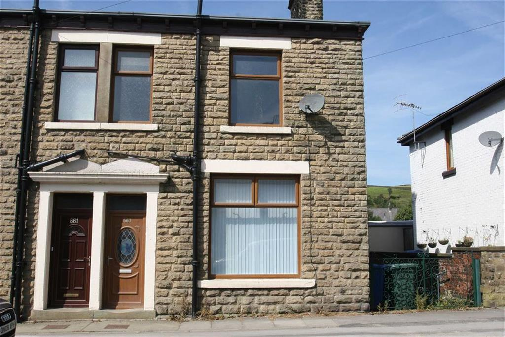 2 Bedrooms End Of Terrace House for sale in 663, Market Street, Whitworth, OL12