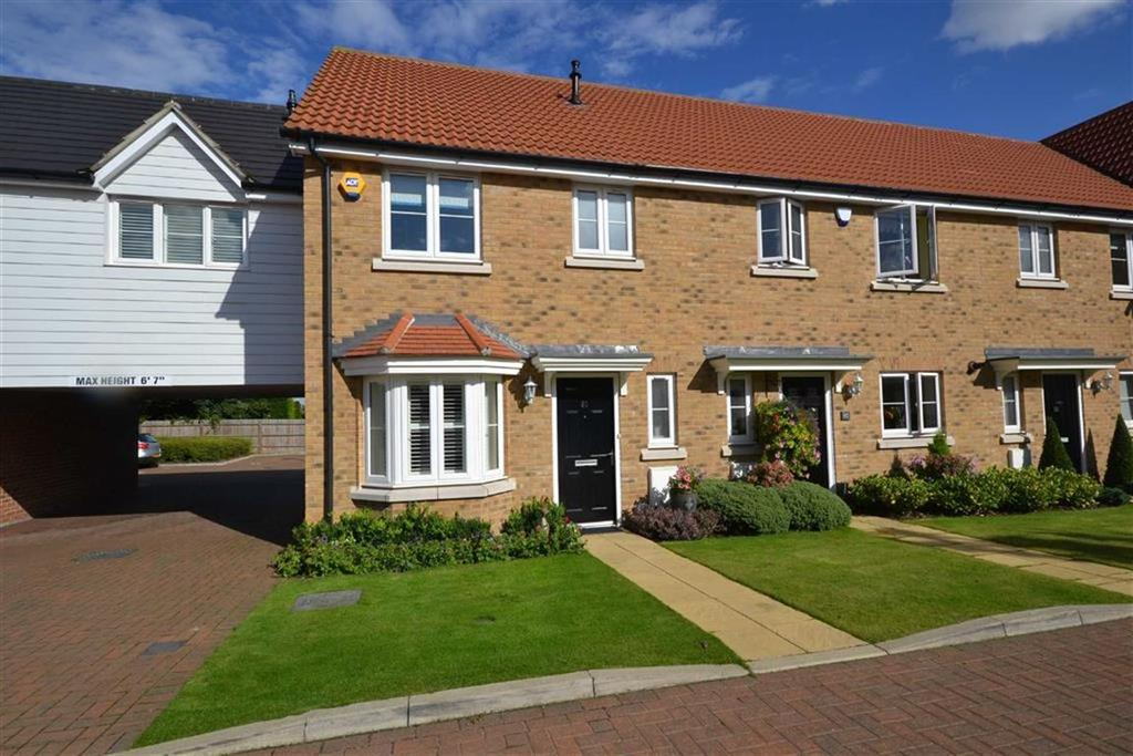 3 Bedrooms End Of Terrace House for sale in Blenheim Square, North Weald, Essex, CM16