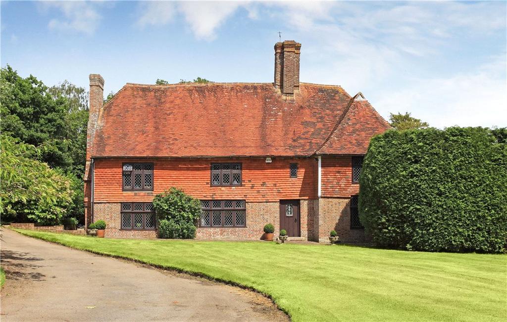 5 Bedrooms Detached House for sale in Ethnam Lane, Sandhurst, Cranbrook, Kent, TN18