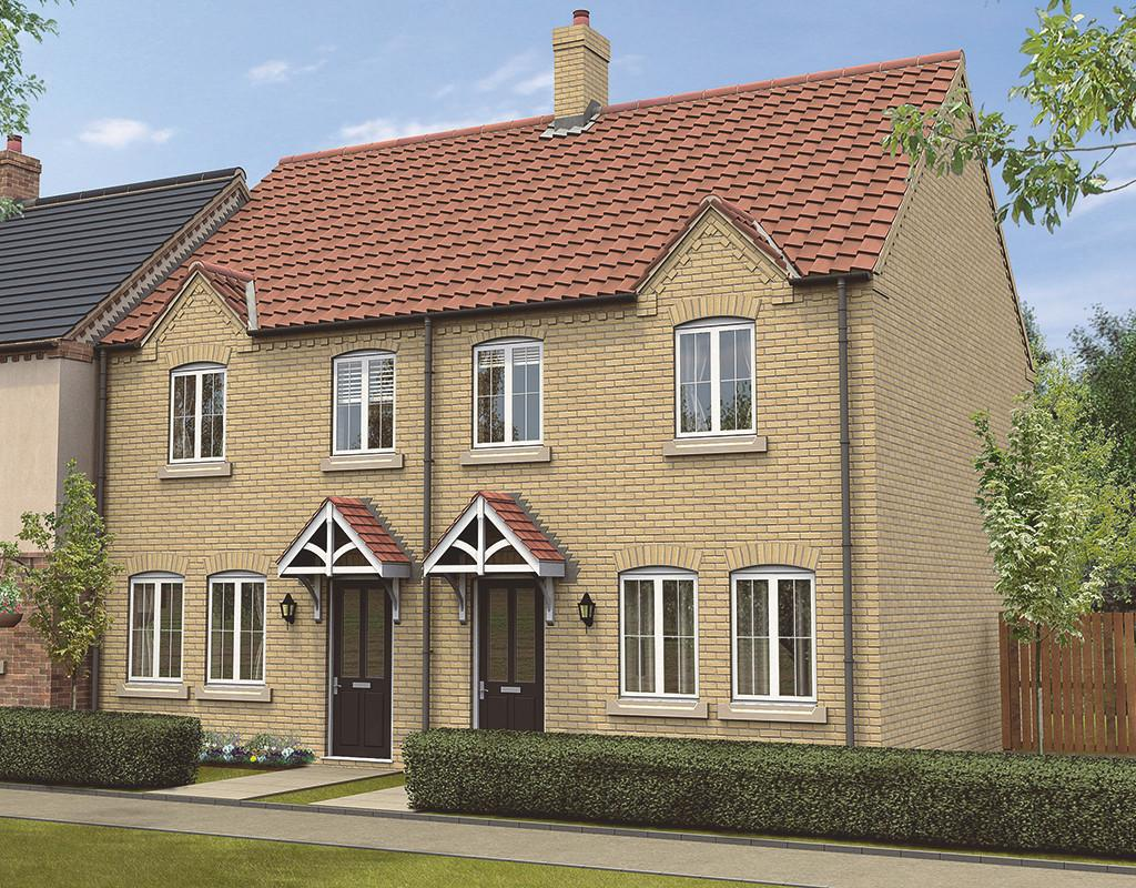 3 Bedrooms Town House for sale in Plot 160, The Chelsea, The Swale, Corringham Road