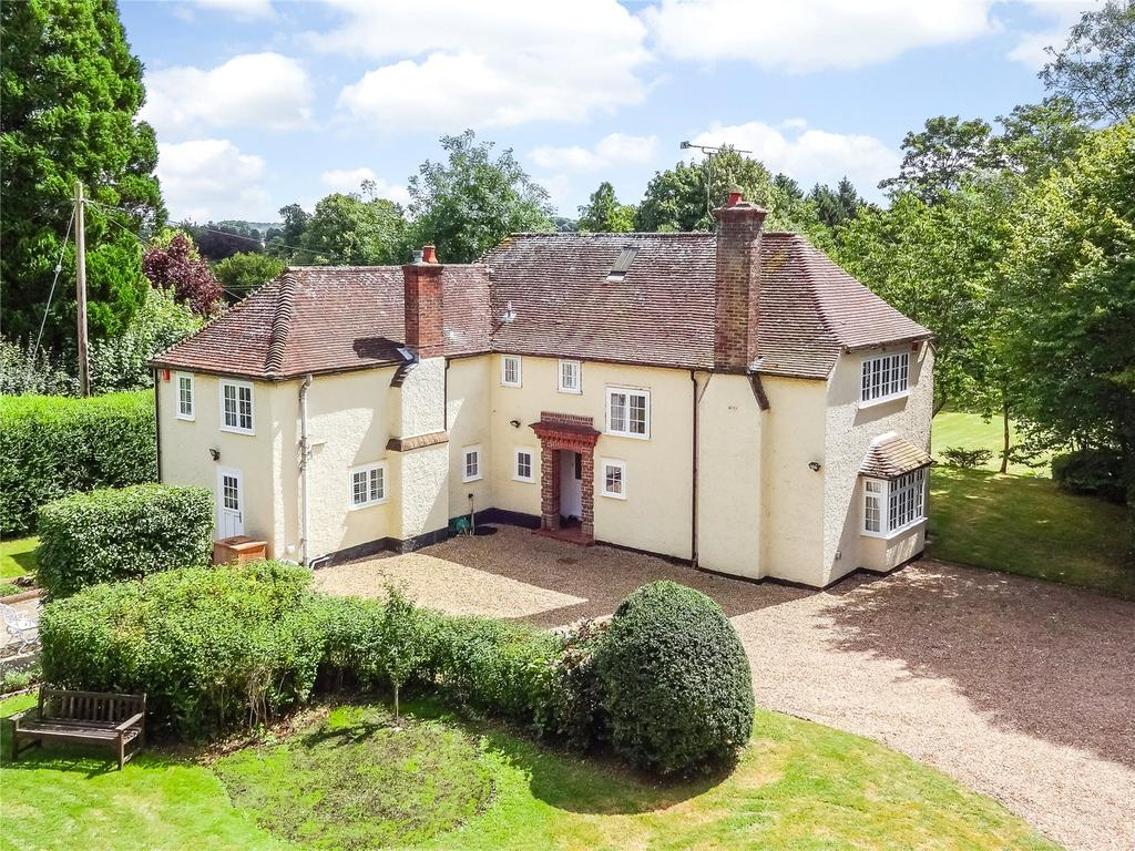 4 Bedrooms Detached House for sale in Main Road, Itchen Abbas, Winchester, Hampshire