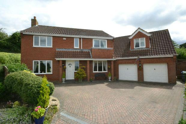 4 Bedrooms Detached House for sale in Knapton Court, Caistor, MARKET RASEN