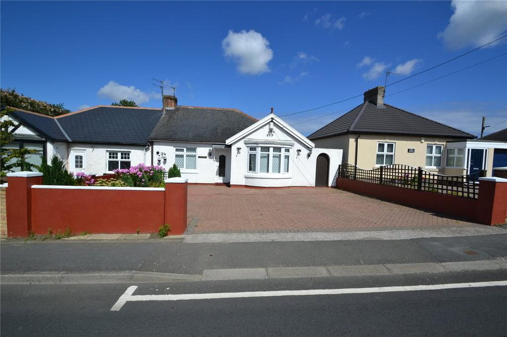 2 Bedrooms Semi Detached Bungalow for sale in Fleming Field, Shotton, Co.Durham, DH6