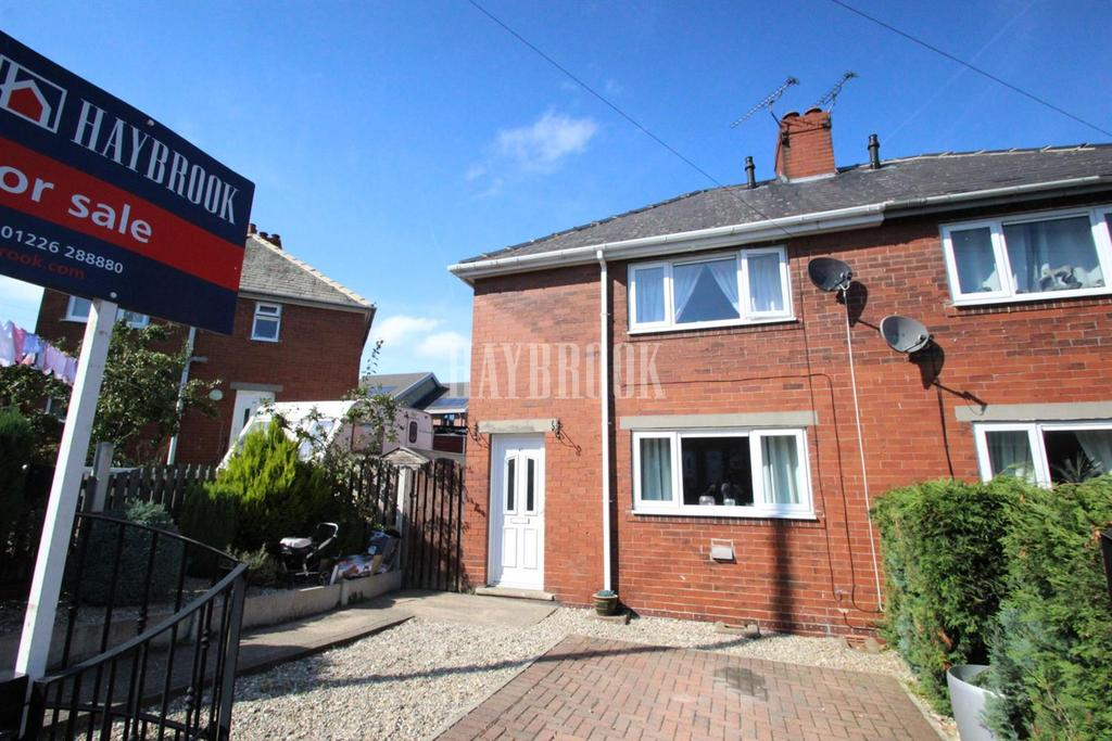 2 Bedrooms Semi Detached House for sale in Bruce Avenue, Worsbrough Common