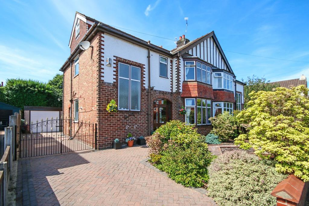 4 Bedrooms Semi Detached House for sale in Litherland Road, Sale, Cheshire, M33