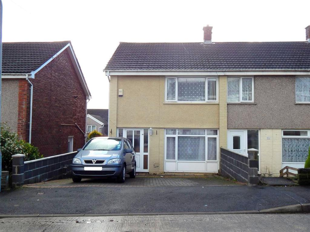 2 Bedrooms End Of Terrace House for sale in Gwernfadog Road, Ynysforgan, Swansea