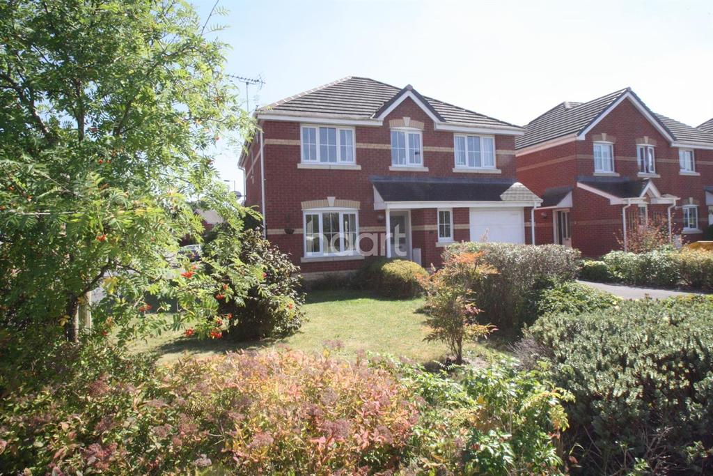 4 Bedrooms Detached House for sale in Jordan Gardens, Monmouth, Monmouthshire