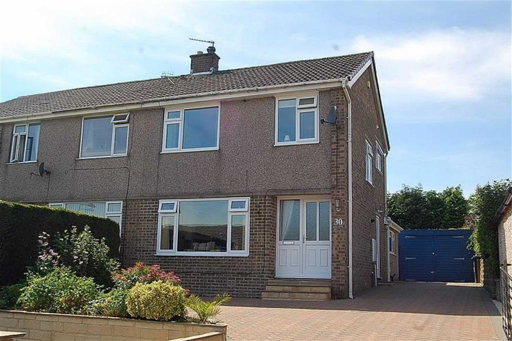 3 Bedrooms Semi Detached House for sale in Heathmoor Way, Illingworth, Halifax, HX2