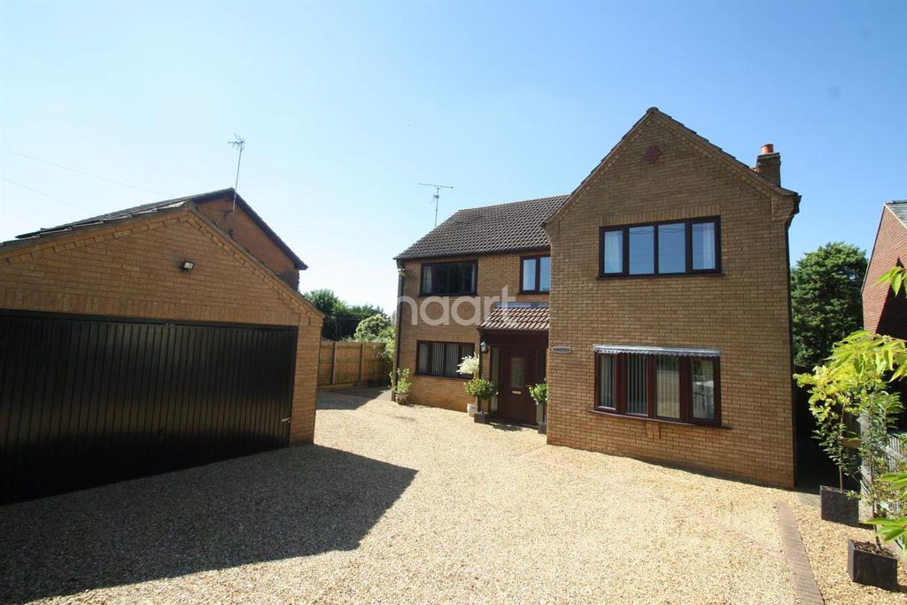4 Bedrooms Detached House for sale in Bunkers Hill , Wisbech St Mary