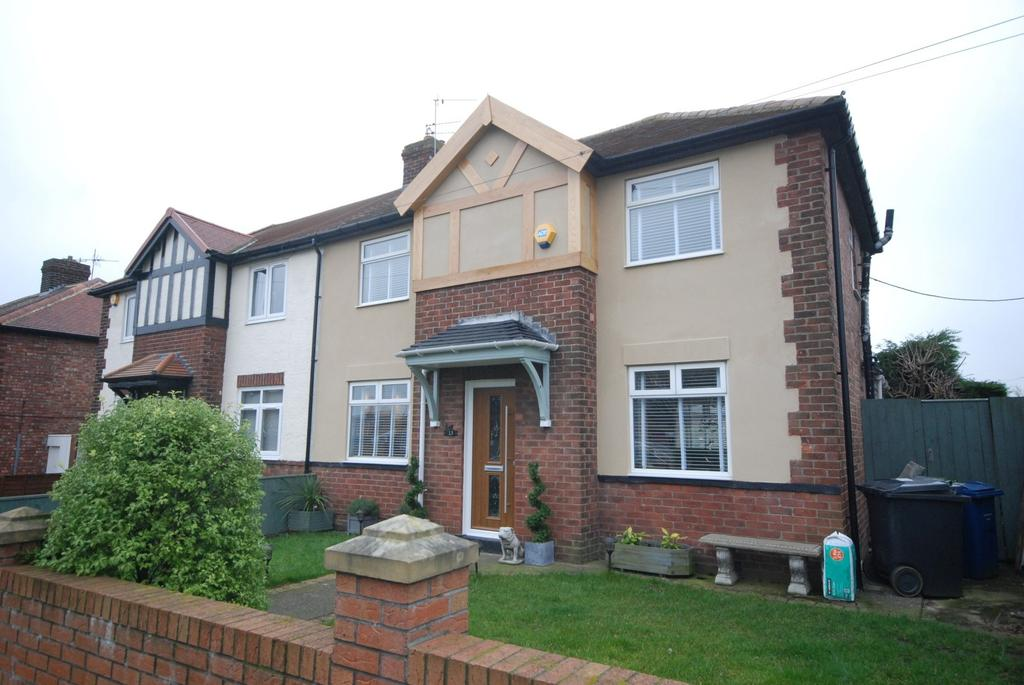 2 Bedrooms Semi Detached House for sale in Thirlwell Grove, Jarrow