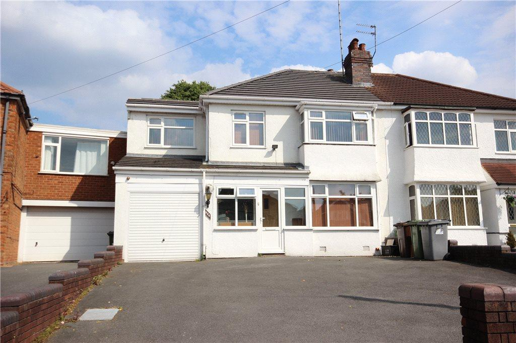 5 Bedrooms Semi Detached House for sale in Old Lode Lane, Solihull, West Midlands, B92