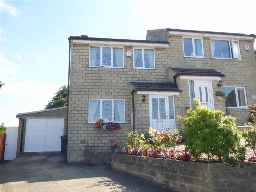 3 Bedrooms Semi Detached House for sale in Heather Road, Meltham, HOLMFIRTH, West Yorkshire, HD9