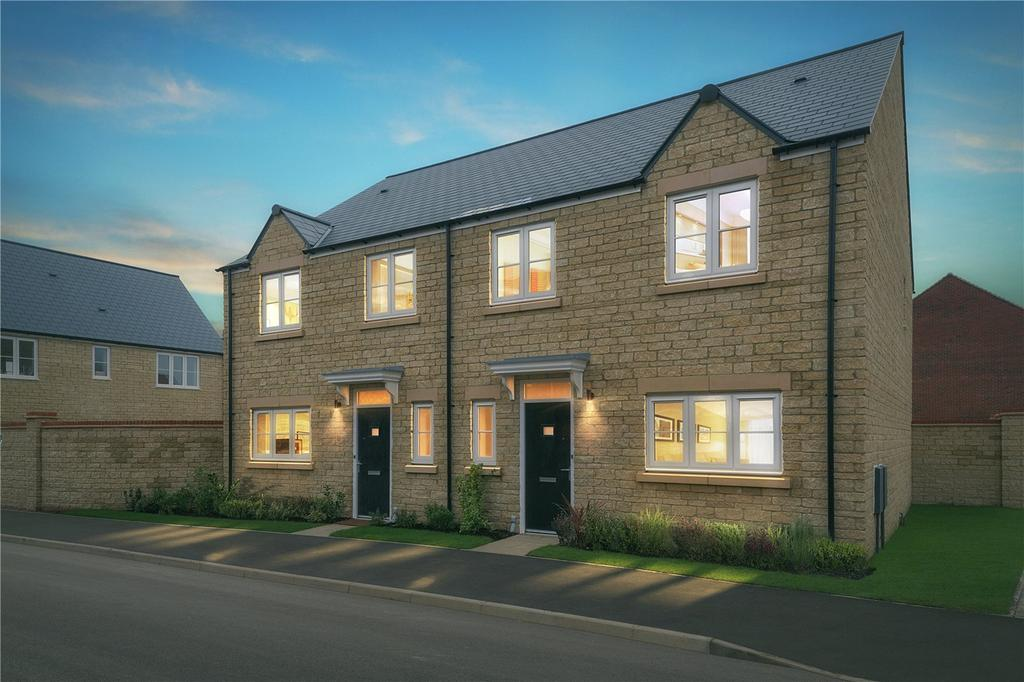 3 Bedrooms Semi Detached House for sale in Alvescot, Oakwood Gate, New Road, Bampton, Oxfordshire, OX18