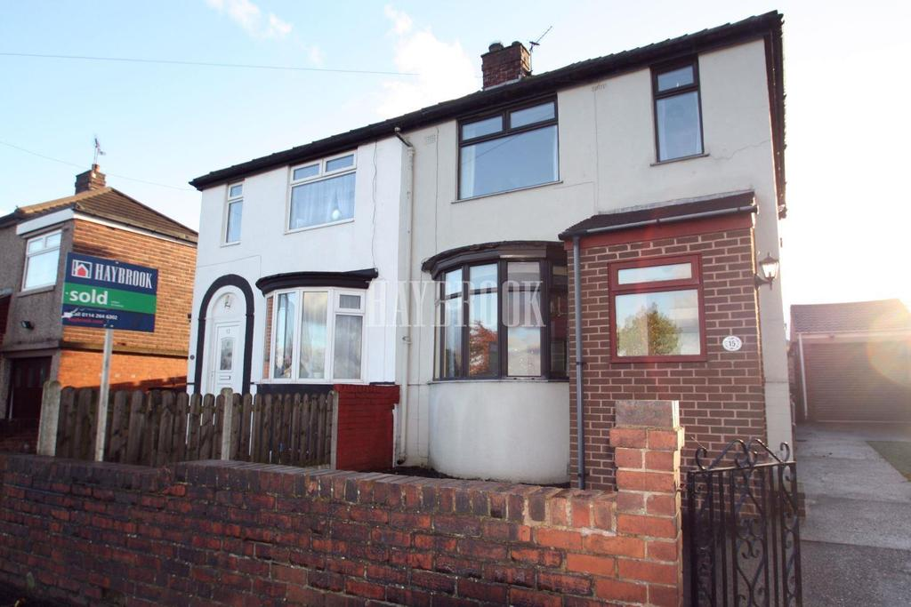 3 Bedrooms Semi Detached House for sale in Mather Road, Littledale, S9