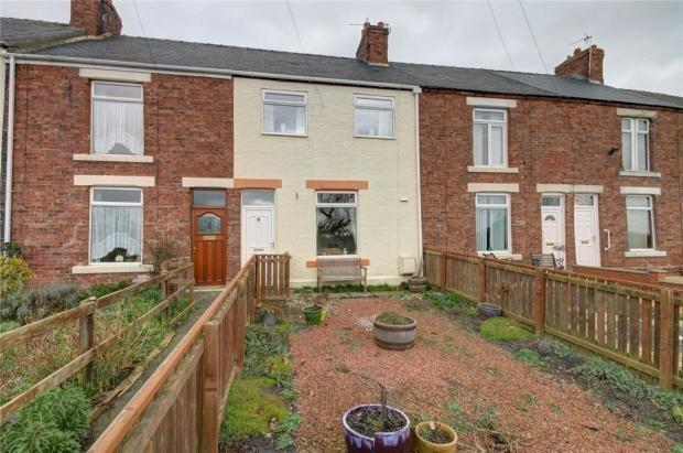 2 Bedrooms Terraced House for sale in ALUM WATERS, NEW BRANCEPETH, DURHAM CITY : VILLAGES WEST OF