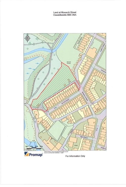 Land Commercial for sale in Rear Milton and Monarch St, Oswaldtwistle, Accrington, Lancashire