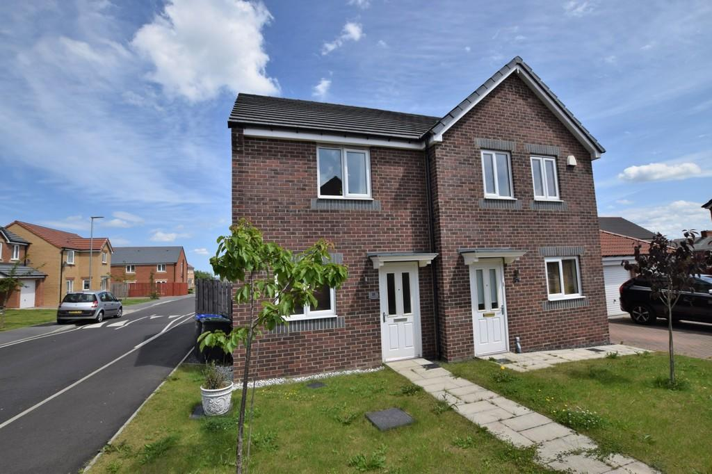 2 Bedrooms Semi Detached House for sale in Kingsdale Close, Catchgate , Stanley
