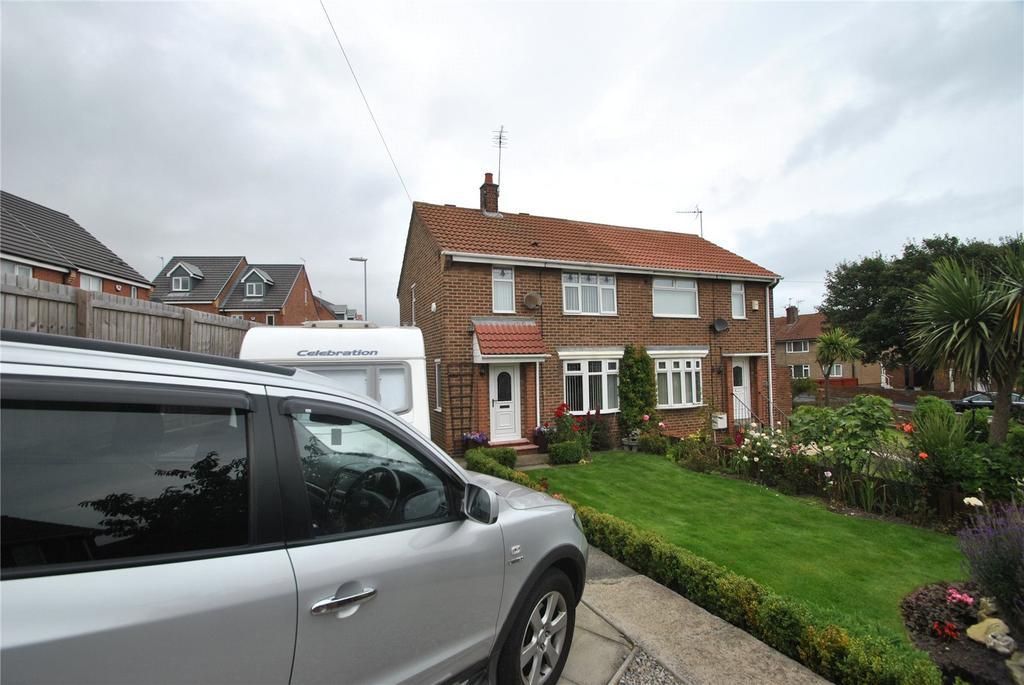 2 Bedrooms Semi Detached House for sale in Derwent Close, Seaham, Co Durham, SR7