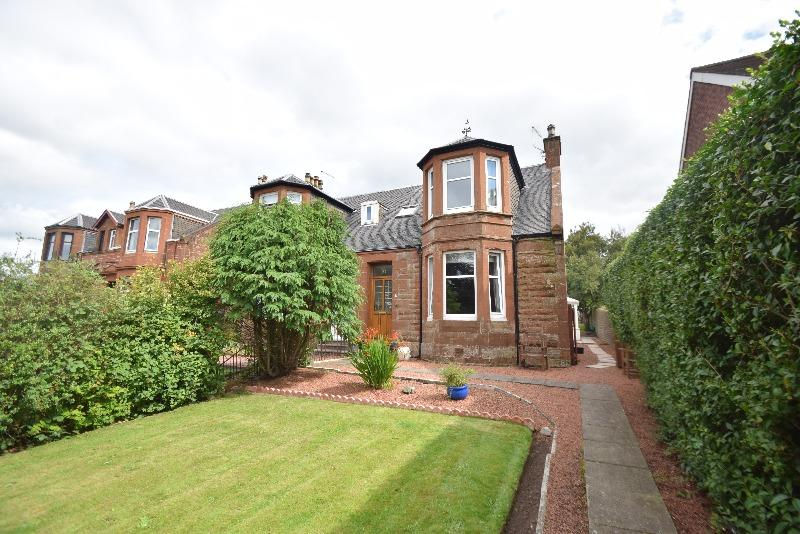 4 Bedrooms Semi Detached House for sale in Mansewell Road, Prestwick, South Ayrshire, KA9 1BB