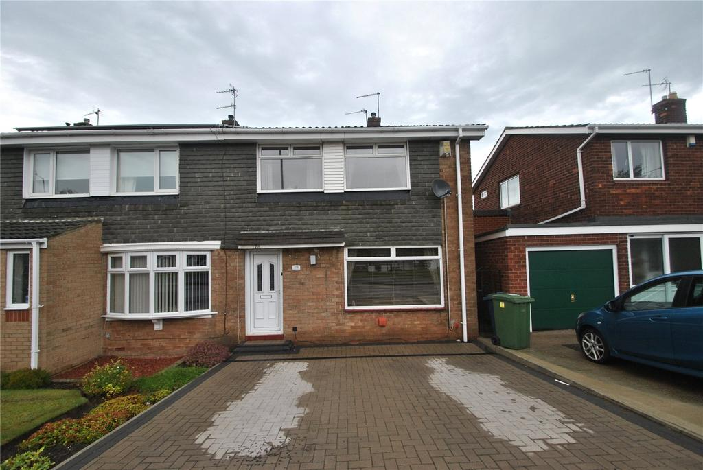 3 Bedrooms End Of Terrace House for sale in Burn Park Road, Houghton le Spring, Tyne and Wear, DH4