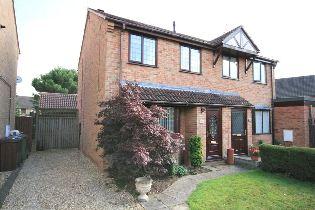 3 Bedrooms Semi Detached House for sale in Dellfield Court, Lincoln, LN6