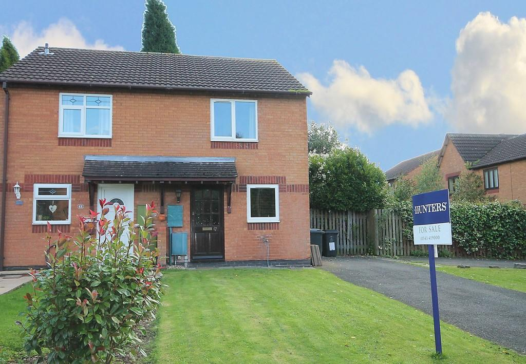 2 Bedrooms Semi Detached House for sale in Manor Court Drive, Handsacre