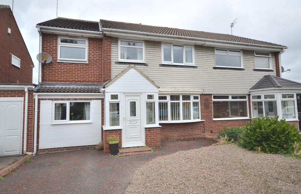 5 Bedrooms Semi Detached House for sale in Kingston Park