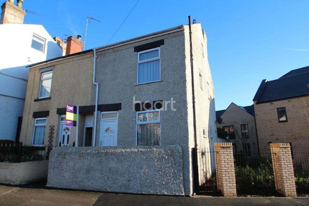 2 Bedrooms End Of Terrace House for sale in Spring Street, Hucknall