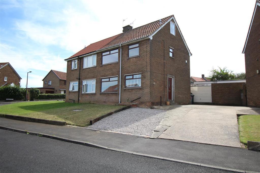 3 Bedrooms Semi Detached House for sale in Keats Drive, Dinnington, Sheffield