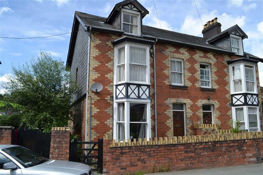 4 Bedrooms Semi Detached House for sale in Bryntirion, New Street, Llanidloes, Powys, SY18