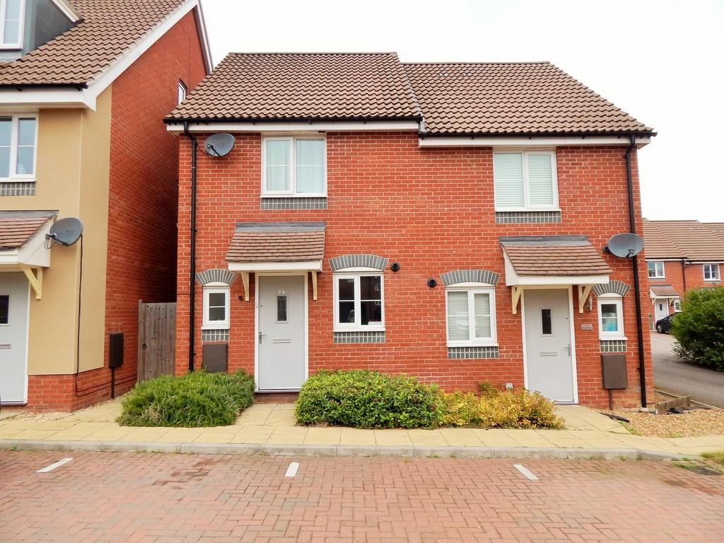 2 Bedrooms Semi Detached House for rent in Costessey
