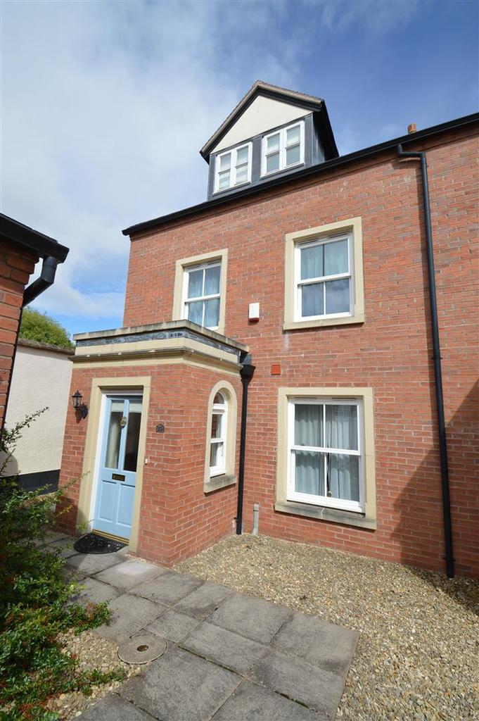 4 Bedrooms Terraced House for sale in 10 Oakley Manor Gardens, Belle Vue, Shrewsbury SY3 7NT