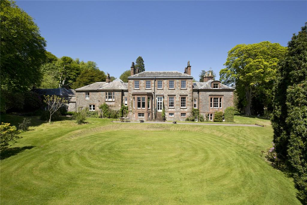 6 Bedrooms Detached House for sale in Spottes House - Lot 1, Haugh Of Urr, Castle Douglas, Kirkcudbrightshire, DG7