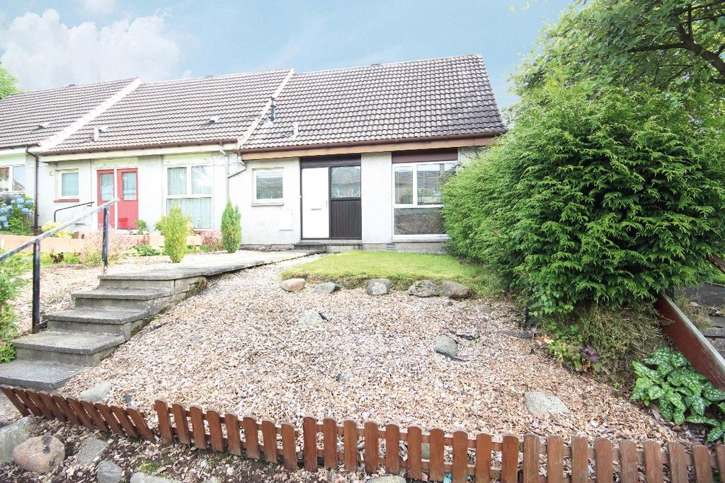 2 Bedrooms End Of Terrace House for sale in Fletcher Place , Crieff, Perthshire , PH7 3LA