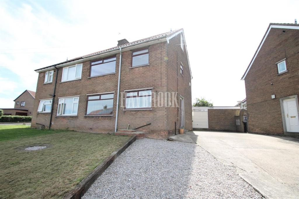 2 Bedrooms Semi Detached House for sale in Keats Drive, Dinnington