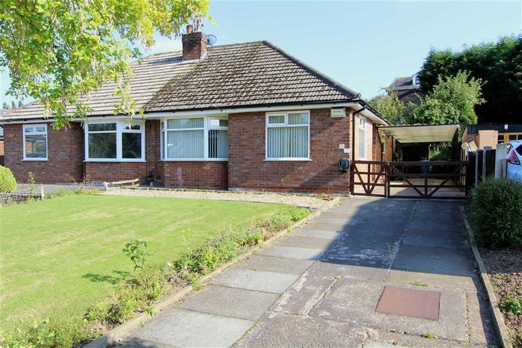 2 Bedrooms Semi Detached Bungalow for sale in Statham Avenue, Lymm