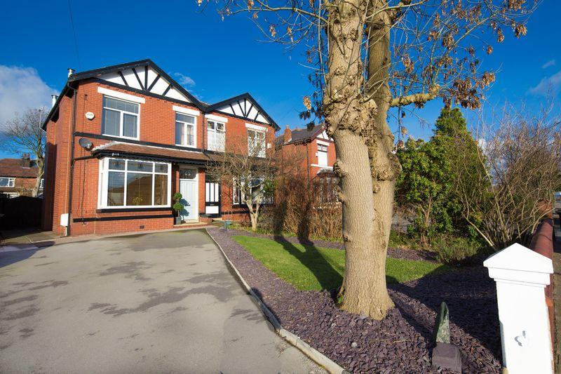 4 Bedrooms Semi Detached House for sale in Bury Bolton Road, Starling, Bury
