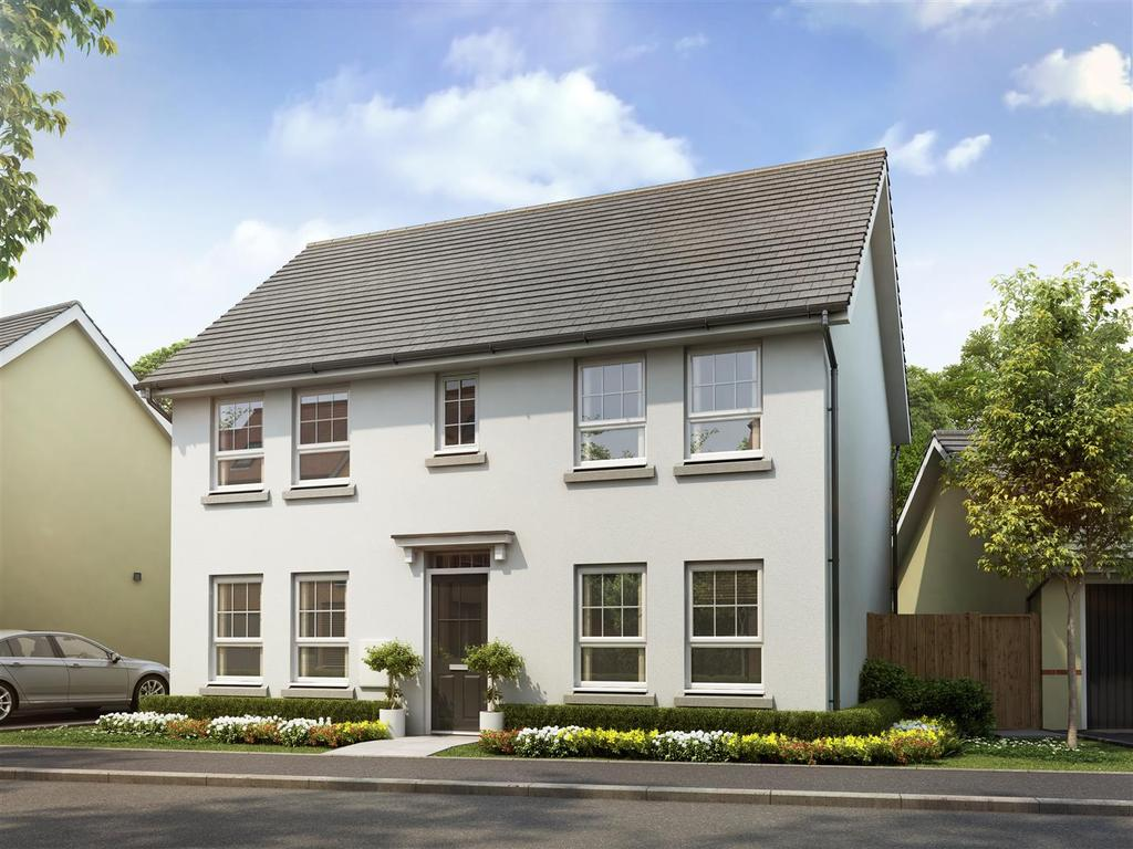 4 Bedrooms Detached House for sale in Plot 204, Saxon Fields, Cullompton