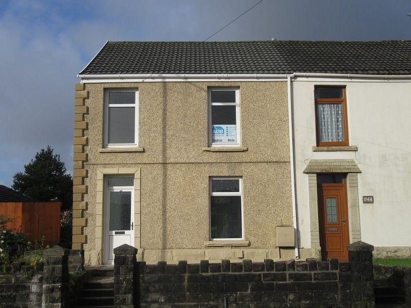 3 Bedrooms End Of Terrace House for sale in Llangyfelach Road, Treboeth, Swansea.