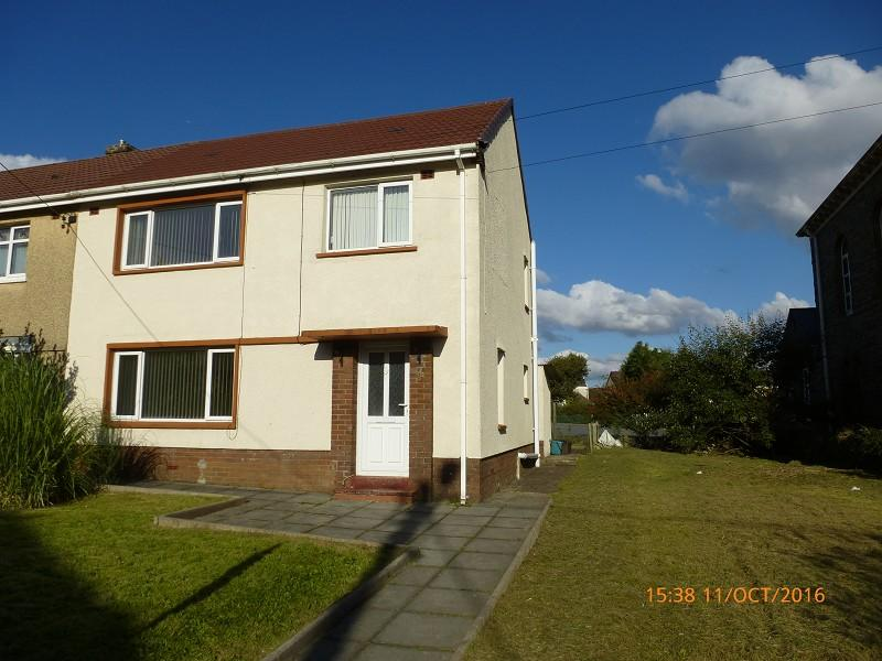 3 Bedrooms Semi Detached House for sale in Heol Cae Gurwen Gwaun Cae Gurwen, Ammanford, Carmarthenshire.
