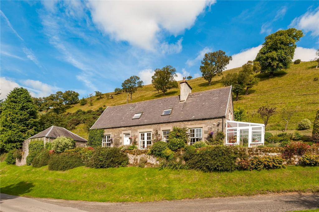 4 Bedrooms Detached House for sale in Birkiebrae, Falnash, Hawick, Roxburghshire, TD9