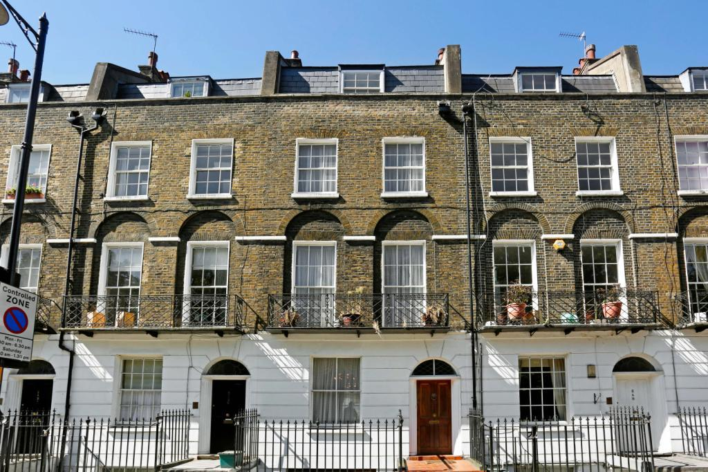 6 Bedrooms Terraced House for sale in Claremont Square, London, N1