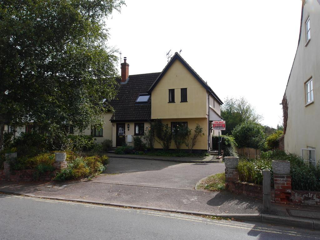 2 Bedrooms Semi Detached House for sale in 1 Stoke Road, Nayland, Colchester, Essex, CO6 4JD