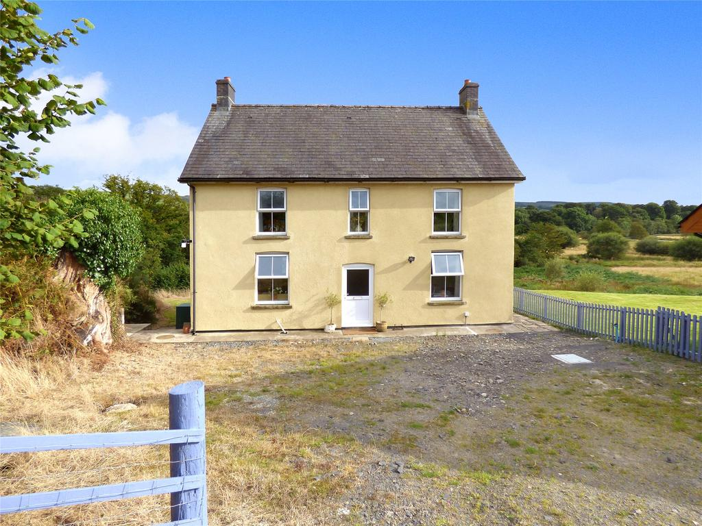 4 Bedrooms Detached House for sale in Llangammarch Wells, Powys